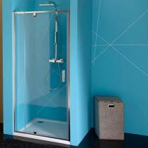 Polysan EASY LINE sprchové dveře otočné 760-900mm, čiré sklo EL1615