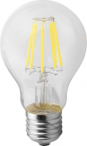 Sapho Led LED žárovka Filament 9W, E27, 230V, denní bílá, 1100Lm LDF279