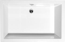 Polysan DEEP hluboká sprchová vanička, obdélník 120x75x26cm, bílá 71564