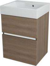 Sapho LARGO umyvadlová skříňka 49x60x41cm, ořech bruno LA503