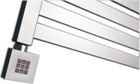Sapho KTX topná tyč s termostatem, 800 W, stříbrná KTX-S-800