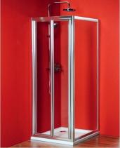 Gelco Sigma obdélníkový sprchový kout 900x1000mm L/P varianta, skládací dveře SG1829SG1570