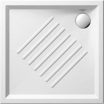 GSI Keramická sprchová vanička, čtverec 90x90x6cm 339711