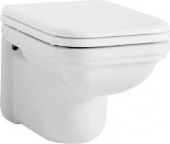 Kerasan WALDORF závěsná WC mísa, 37x55cm, bílá 411501