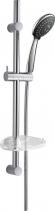 Sapho ALEX sprchová souprava s mýdlenkou, posuvný držák, 810mm, chrom 1202-21