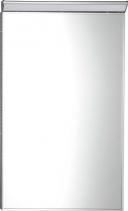 Sapho BORA zrcadlo v rámu 400x600mm s LED osvětlením a vypínačem, chrom AL746