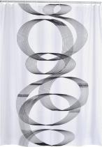 Ridder LOOP sprchový závěs 180x200cm, polyester, spirála 42346