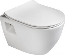 Sapho PAULA WC závěsné 35, 5x50cm, bílá TP325