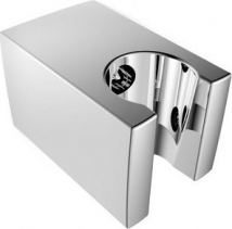 Aqualine Pevný držák sprchy, hranatý, 57mm, ABS/chrom SK050