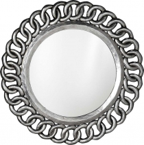 Sapho CERCLE zrcadlo v rámu, 80x80cm, stříbrná IN138