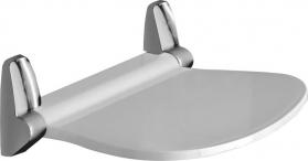 Gedy SOUND sprchové sedátko, 38x35, 5cm, sklopné, bílá 2282