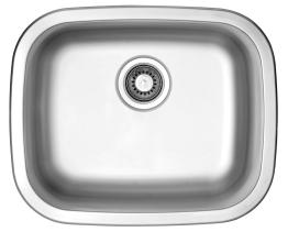 Nerezový dřez Sinks NEPTUN 526 V 0,6mm matný STSNEM5264326V