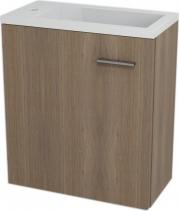 Sapho LATUS III umyvadlová skříňka 45x50x23, 2cm, Ořech bruno 55548