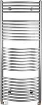 Aqualine Otopné tělesooblé 1330/450, 545 W, metalická stříbrná ILA34