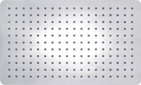Sapho SLIM hlavová sprcha, obdelník, 400x2x250mm, nerez MS581