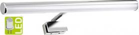 Sapho IRENE LED svítidlo, 6W, 286x100x25mm, chrom 25861CI