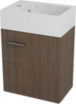 Sapho LATUS V umyvadlová skříňka 35, 6x40x23cm, Borovice rustik LT053