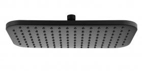 Aqualine Hlavová sprcha, 200x350mm, ABS/černá SC296