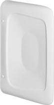 Aqualine OLYMPOS keramická oddělovací stěna mezi urinály 61, 5x10, 8x40 cm 37508
