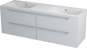 Sapho WAVE dvojumyvadlová skříňka 149, 7x50x47, 8cm, bílá WA151