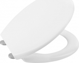 Sapho ADINA WC sedátko, Soft Close, bílá 1703-322