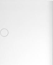 Polysan MIRAI sprchová vanička z litého mramoru, obdélník 120x80x1, 8cm, pravá, bílá 73178