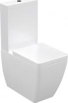 Kerasan EGO WC kombi, spodní/zadní odpad, bílá WCSET07-EGO