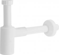 Sapho CRONO Umyvadlový sifon 1'1/4, odpad 32 mm, bílá 1910.111.5