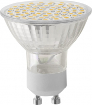 Sapho Led LED bodová žárovka 6W, GU10, 230V, teplá bílá, 410lm LDP149