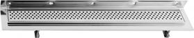 Sapho CORNER 87 nerezový sprchový kanálek s roštem, ke zdi 870x130x82 mm FP427
