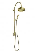 Reitano Rubinetteria VANITY sprchový sloup s připojením vody ze zdi, retro, bronz SET056