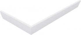 Polysan KARIA 90x70 rohový panel, výška 11 cm, pravý 44812R