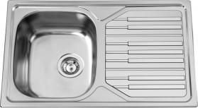 Nerezový dřez Sinks PIANO 800 V 0,7mm leštěný RDPIL8005007V
