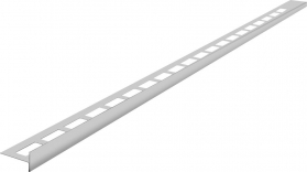 Sapho Nerezová lišta pro vyspádování, levá, výška 12 mm, délka 1200 mm SPD1212-L