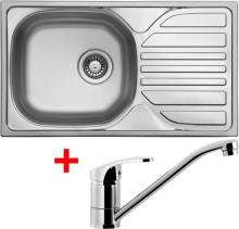 Nerezový dřez Sinks COMPACT 760 V+PRONTO CMM7605VPRCL