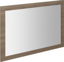 Sapho LARGO zrcadlo v rámu 700x900x28mm, ořech bruno LA713