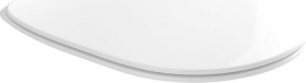 Kerasan FLO WC sedátko SLIM Soft Close, termoplast, bílá 319101