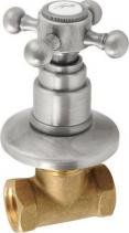 Reitano Rubinetteria ANTEA podomítkový ventil, teplá, nikl 3058H