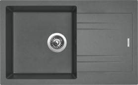 Granitový dřez Sinks LINEA 780 N Titanium SIGLI780480N72