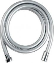 Sapho SOFTFLEX hladká sprchová plastová hadice, 150cm, metalická stříbrná/chrom 1208-11