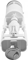 Sapho Splachovací souprava s dvojtlačítkem, 1/2', chrom, spodní napouštění SSUV12
