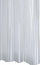 Ridder SATIN sprchový závěs 180x200cm, polyester, bílá 47851