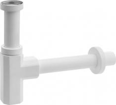Sapho SPY umyvadlový sifon 1'1/4, odpad 32mm bílá mat PY36/14