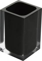 Gedy RAINBOW sklenka na postavení, černá RA9814
