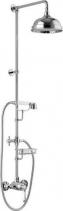 Alpi LONDON II sprchový sloup s pákovou baterií, mýdlenka, výška 1291mm, chrom LO41RM2250