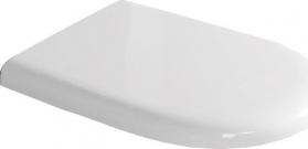 Kerasan AQUATECH WC sedátko Soft Close, termoplast, bílá/chrom 378801
