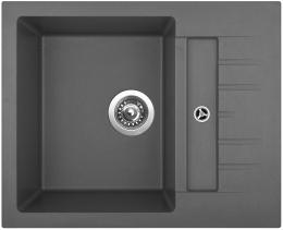 Granitový dřez Sinks CRYSTAL 615 Titanium ACRCR61550072