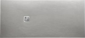 Gelco MITIA sprchová vanička z litého mramoru, obdélník 200x90x3 cm, šedá PM20090S