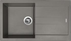 Granitový dřez Sinks AMANDA 860 Truffle TLAM86050054