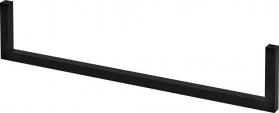 Sapho AVICE sušák osušky, 450x95mm, černá mat VC467